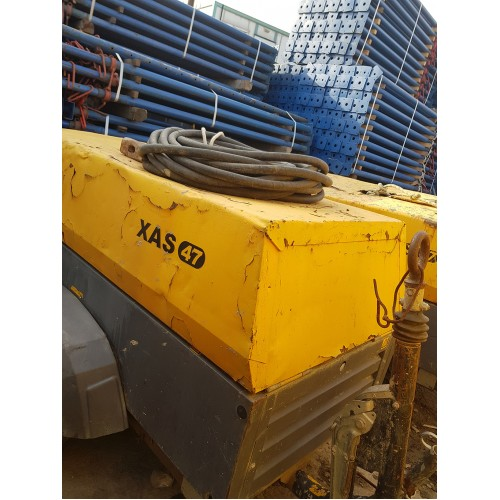 2.EL KOMPRESOR  - ATLAS COPCO  XAS 47  2012 MODEL - 950 SAAT