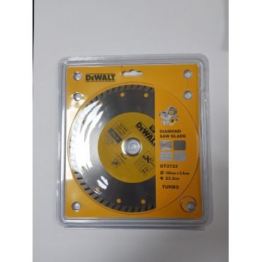 DEWALT DT3722 180 mm Turbo Elmas Disk