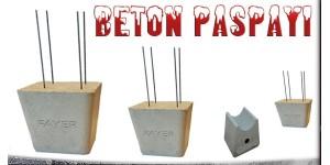 BETON PASPAYI  & PLASTİK PASPAYI