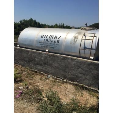 Mazot Tankı   2.El 15 Ton Sayaclı ve pompalı
